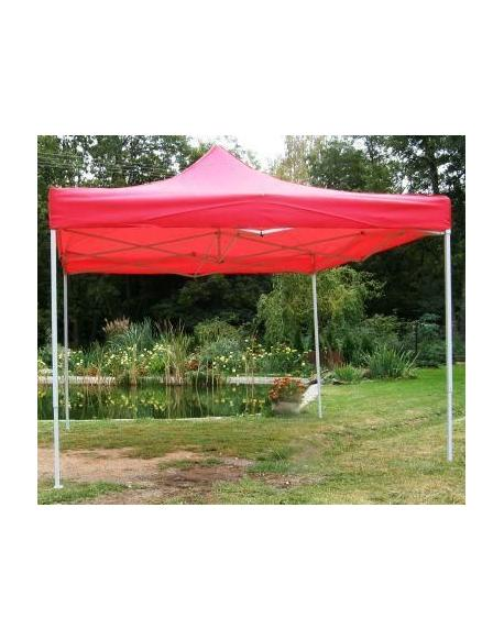 Zahradní párty stan CLASSIC nůžkový - 3 x 3 m červený