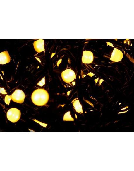Vánoční LED osvětlení 20 m - teple bílá, 200 MAXI LED diod