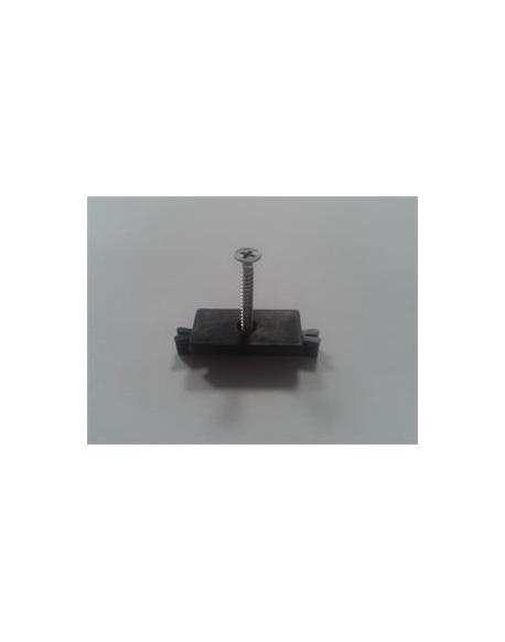 Příchytka terasového prkna G21 k nosníku terasových prken s ocelovým šroubem