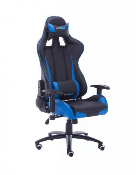 Kanclářská židle - křeslo IDAHO - modrá