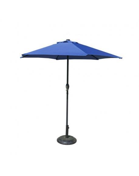 Slunečník 230 cm - sv.modrý