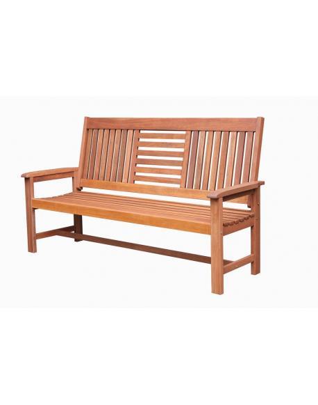 Zahradní dřevěná lavice SEREMBAN - 178 cm