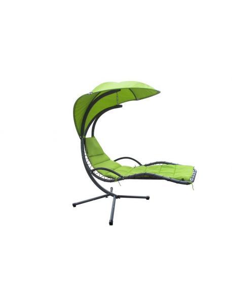 Závěsná houpačka - zelená lemone