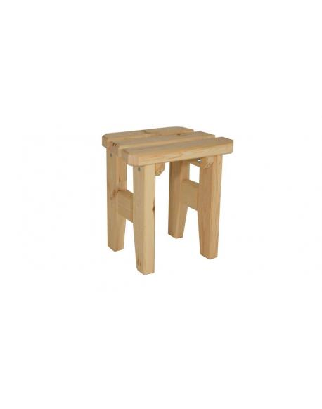 Zahradní dřevěná stolička I. - bez povrchové úpravy