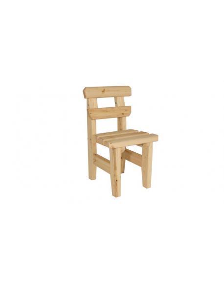 Zahradní dřevěná židle I. - bez povrchové úpravy