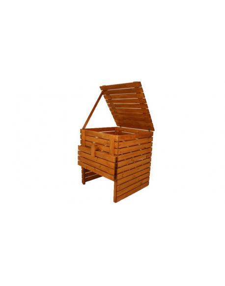 Zahradní dřevěný kompostér - 1200l