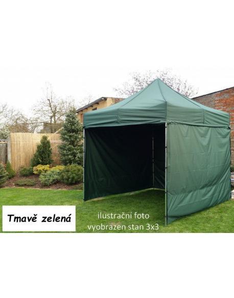 Zahradní párty stan PROFI STEEL 3 x 6 - tmavě zelená