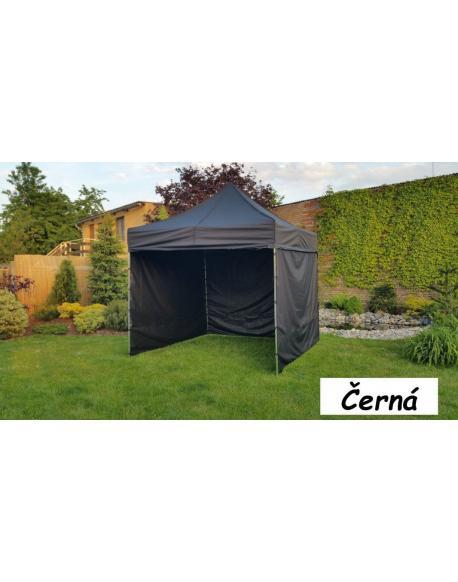 Zahradní párty stan PROFI STEEL 3 x 3 - černá
