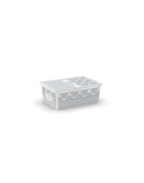 Plastový úložný KIS C box CLASSY - S