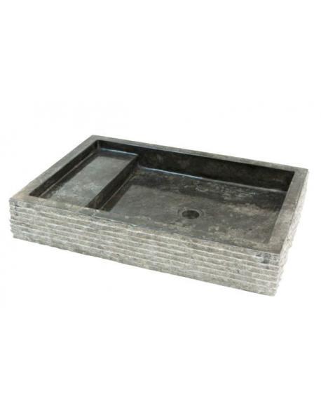 Kamenné umyvadlo Kotak Trap Marmo Black