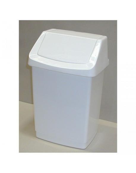 Koš odpadkový CLICK 50l - bílý CURVER