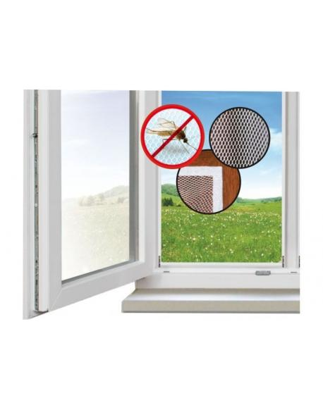 Síť ochranná okenní 150x90cm samolepící