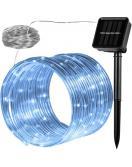 Solární světelná hadice - 100 LED studená bílá VOLTRONIC