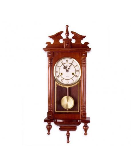 Nástěnné kyvadlové hodiny ORPHEUS mahagon - 73 cm
