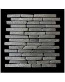 Mozaika z andezitu Parquet Black Candi Alur Style 1m2