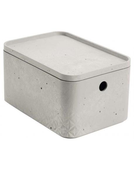 CURVER BETON box s víkem - S