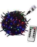 Vánoční osvětlení 40 m - barevný 400 LED + ovladač