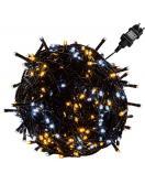 Vánoční osvětlení 5 m - teple/studeně bílá 50 LED