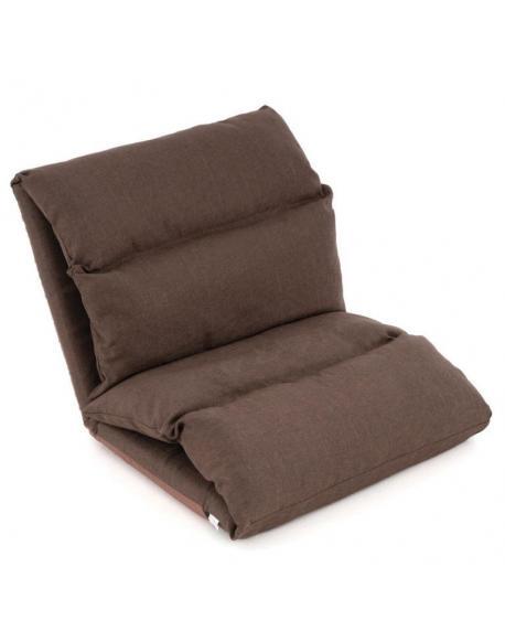Nastavitelná sofa, barva hnědá