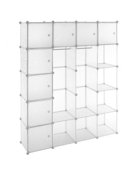 Transparentní regál - zásuvný systém