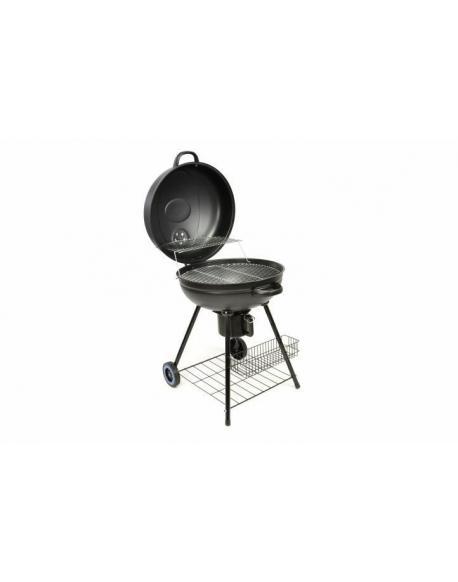BBQ kulatý gril na dřevěné uhlí