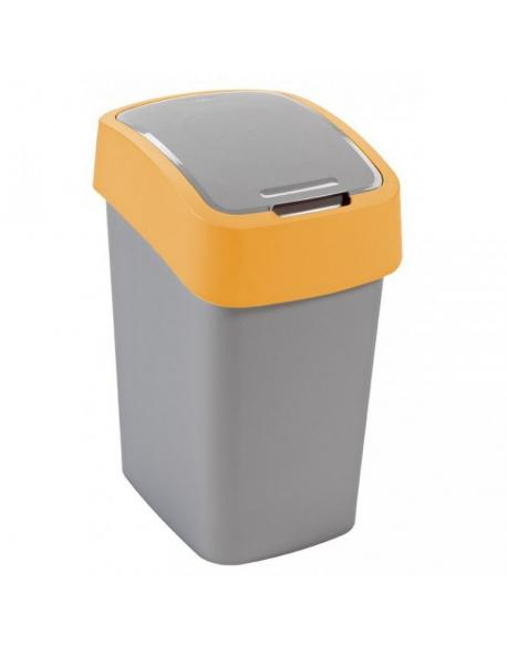 Odpadkový koš FLIPBIN 25l - žlutý CURVER