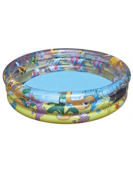 Bazén s potiskem 102 x 25 cm