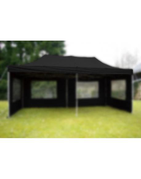Střecha k zahradnímu stanu - 3x6m - černá