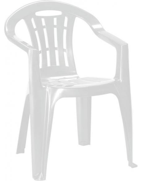 Zahradní židle MALLORCA - bílé