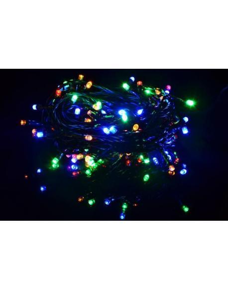 Vánoční LED osvětlení 40 m - barevné, 400 diod