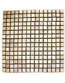 Mramorová mozaika DIVERO krémová 30 x 30 cm 1 ks