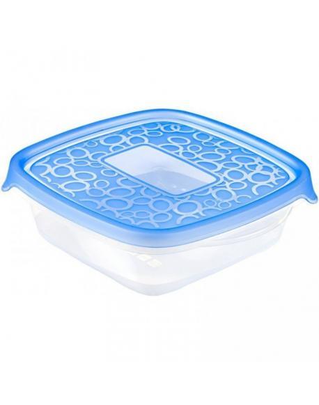 Set 5x plastová nádoba TAKE AWAY 0,6L - modrý CURVER