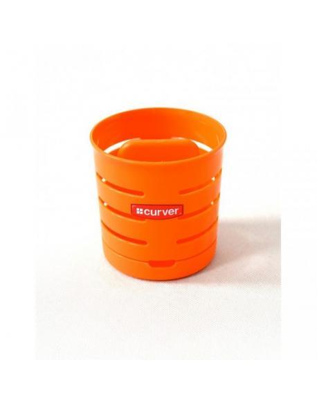 Odkapávač na příbory KULATÝ - oranžový CURVER
